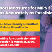 MIPS 2019 reporting, Reporting MIPS in 2019, MIPS Qualified Registry