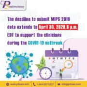 CMS, MIPS 2019 reporting, MIPS 2019 reporting deadline, MIPS deadline, coronavirus emergency
